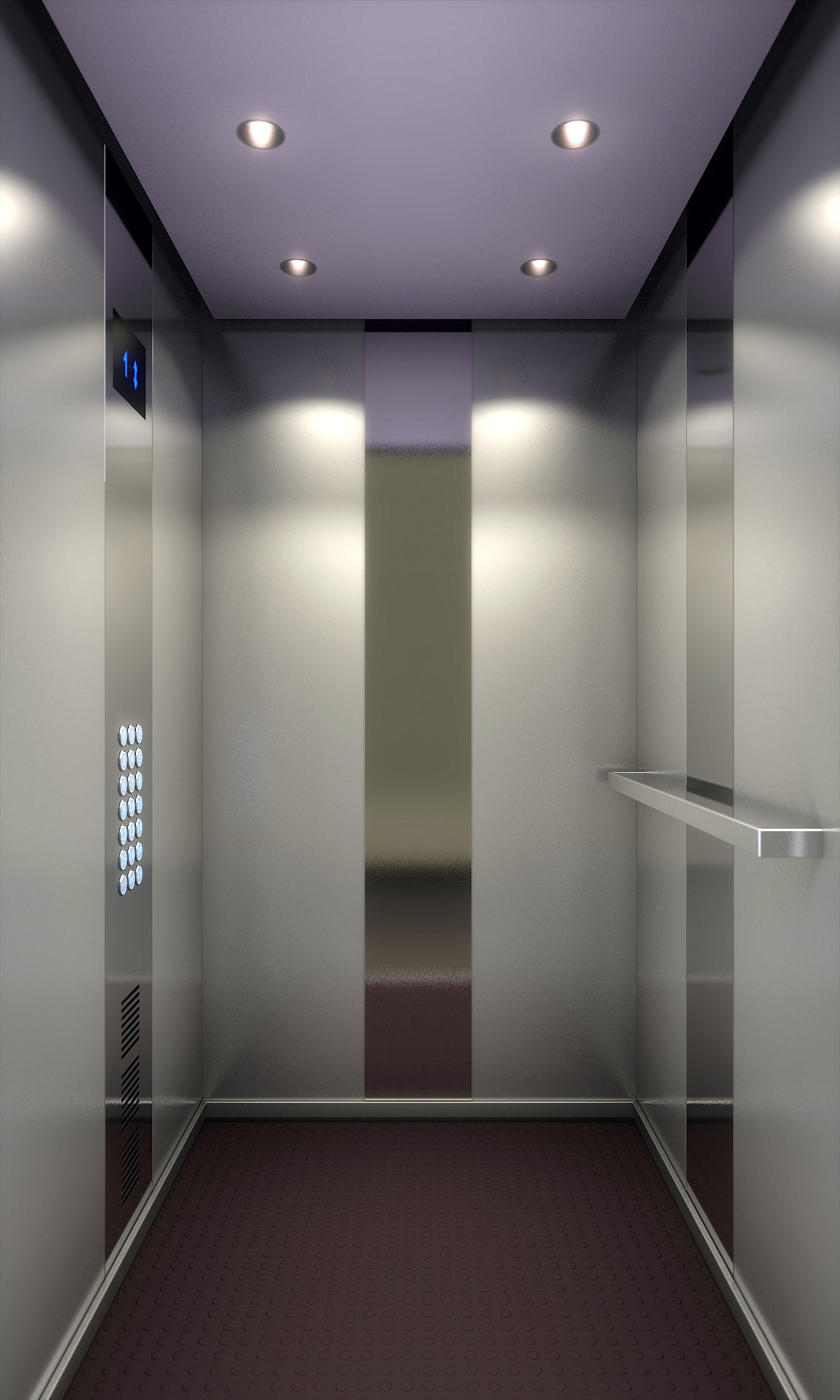 Delightful Currently Blending: Elevator Interior